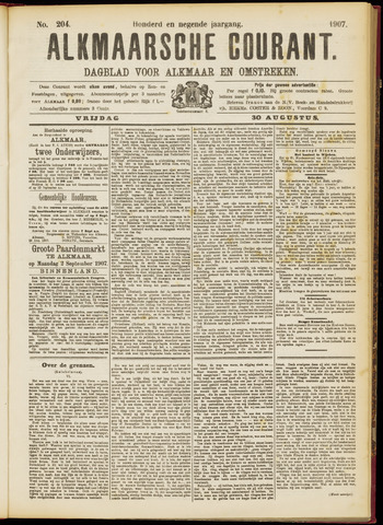 Alkmaarsche Courant 1907-08-30