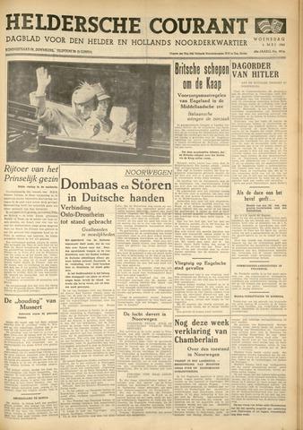 Heldersche Courant 1940-05-01