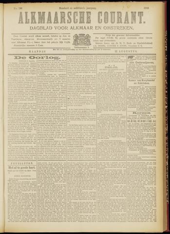 Alkmaarsche Courant 1916-08-21