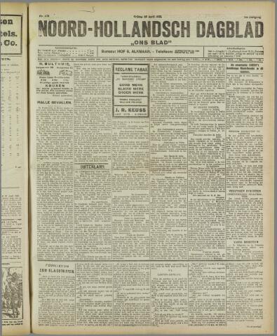 Ons Blad : katholiek nieuwsblad voor N-H 1922-04-28