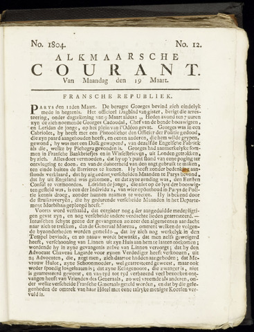 Alkmaarsche Courant 1804-03-19