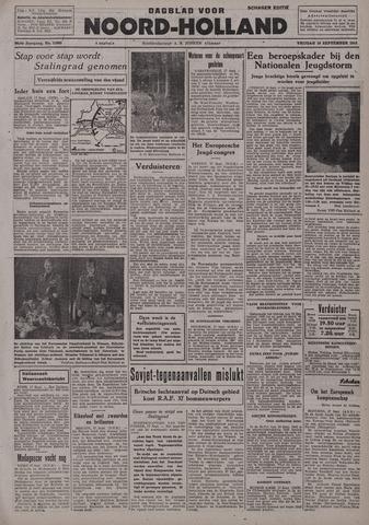 Dagblad Noord-Holland, Schager editie 1942-09-18