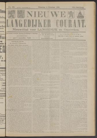Nieuwe Langedijker Courant 1921-10-04