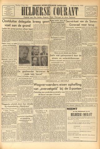 Heldersche Courant 1952-09-22