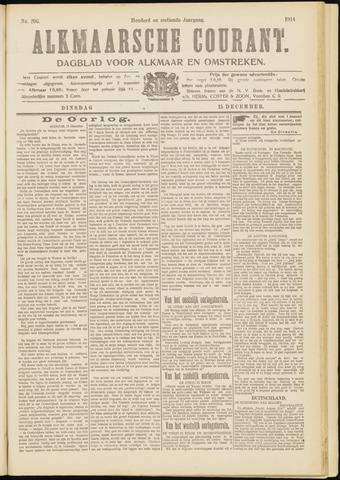 Alkmaarsche Courant 1914-12-15