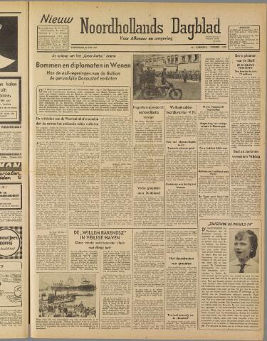 Nieuw Noordhollandsch Dagblad : voor Alkmaar en omgeving 1947-05-22
