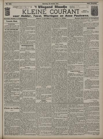 Vliegend blaadje : nieuws- en advertentiebode voor Den Helder 1910-10-22