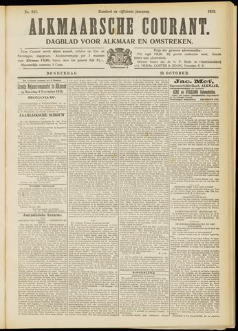 Alkmaarsche Courant 1913-10-23