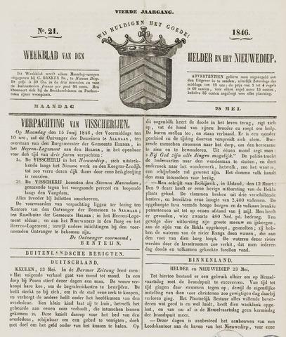 Weekblad van Den Helder en het Nieuwediep 1846-05-25
