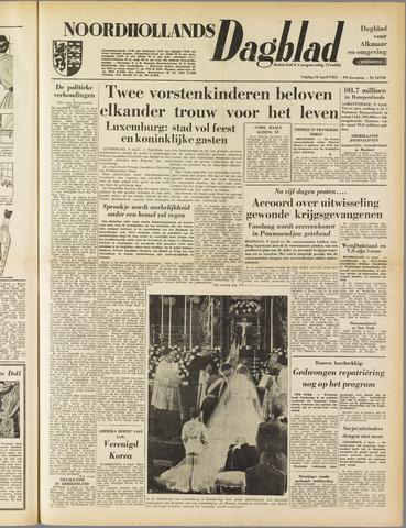 Noordhollands Dagblad : dagblad voor Alkmaar en omgeving 1953-04-10