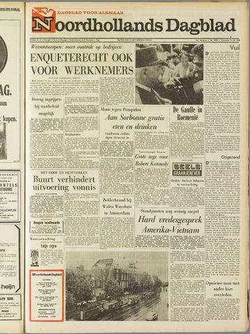 Noordhollands Dagblad : dagblad voor Alkmaar en omgeving 1968-05-15