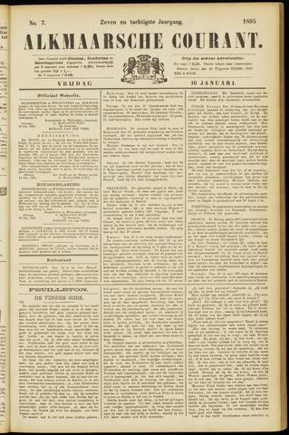 Alkmaarsche Courant 1885-01-16