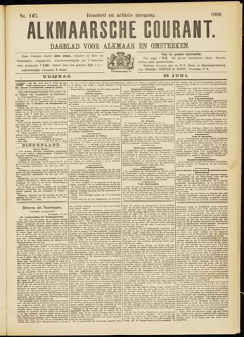 Alkmaarsche Courant 1906-06-22
