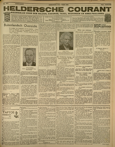Heldersche Courant 1935-11-07