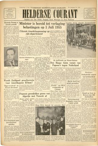 Heldersche Courant 1954-11-11