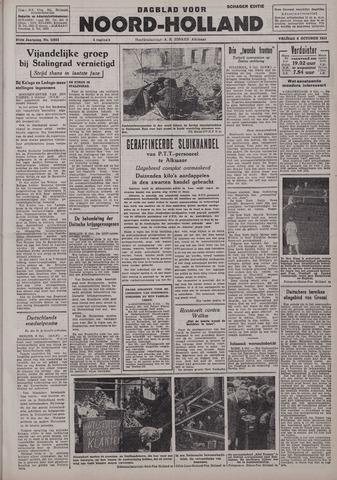 Dagblad Noord-Holland, Schager editie 1942-10-09