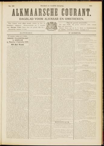 Alkmaarsche Courant 1910-08-27