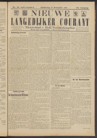 Nieuwe Langedijker Courant 1927-11-10
