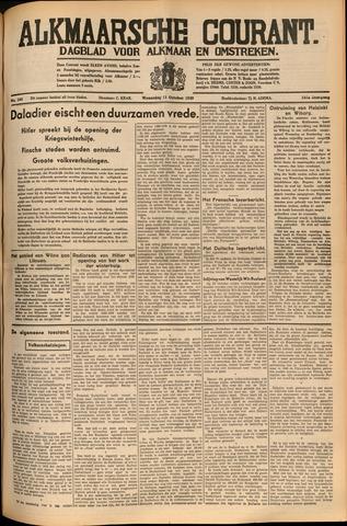 Alkmaarsche Courant 1939-10-11