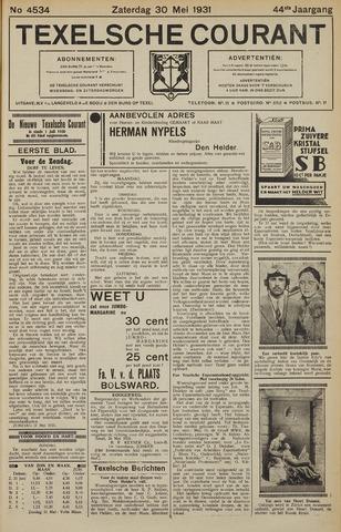 Texelsche Courant 1931-05-30