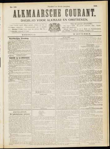 Alkmaarsche Courant 1908-09-30