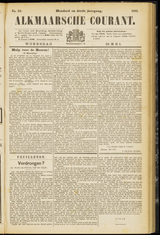 Alkmaarsche Courant 1901-05-29