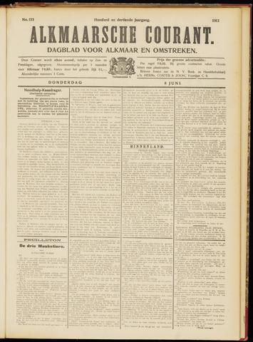 Alkmaarsche Courant 1911-06-08