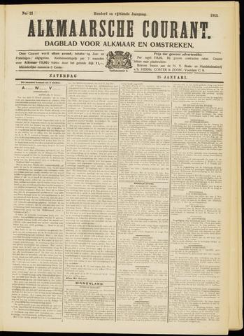 Alkmaarsche Courant 1913-01-25