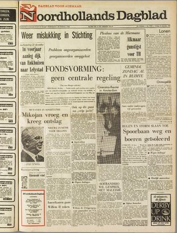 Noordhollands Dagblad : dagblad voor Alkmaar en omgeving 1965-12-10
