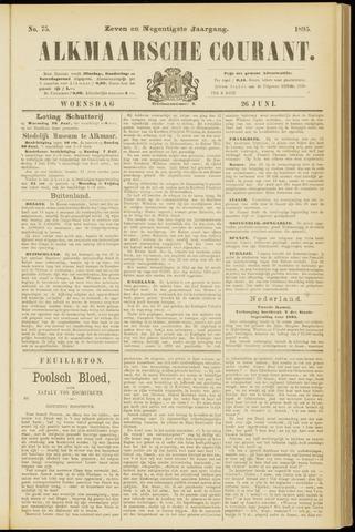 Alkmaarsche Courant 1895-06-26