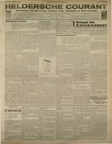 Heldersche Courant 1931-09-17