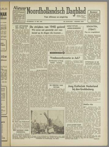 Nieuw Noordhollandsch Dagblad : voor Alkmaar en omgeving 1946-05-15