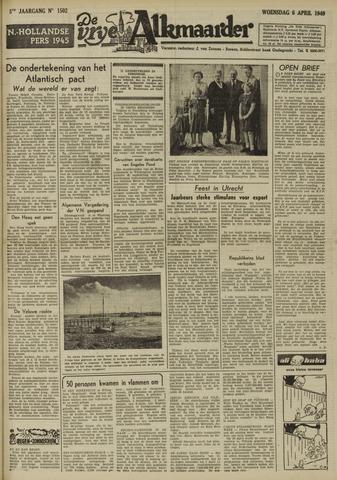 De Vrije Alkmaarder 1949-04-06
