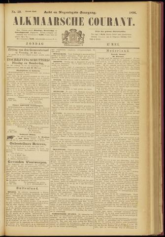 Alkmaarsche Courant 1896-05-17