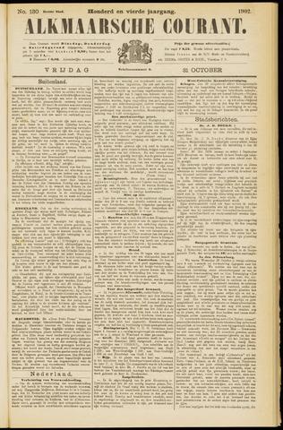 Alkmaarsche Courant 1902-10-31