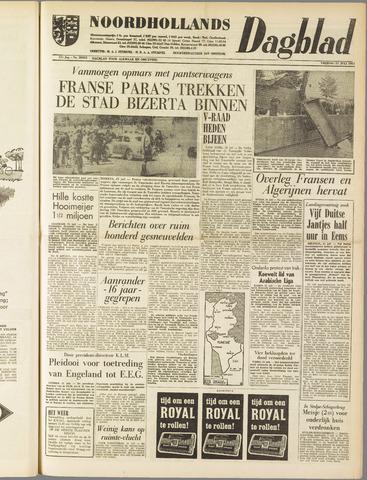 Noordhollands Dagblad : dagblad voor Alkmaar en omgeving 1961-07-21