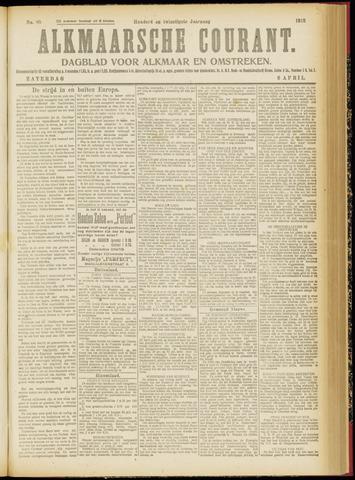 Alkmaarsche Courant 1918-04-06