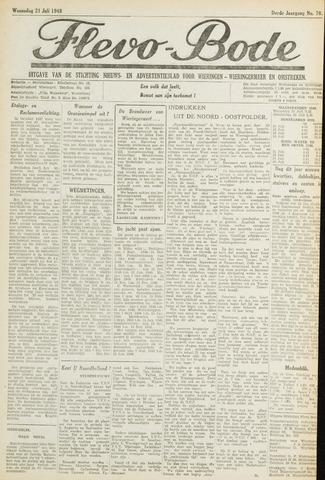Flevo-bode: nieuwsblad voor Wieringen-Wieringermeer 1948-07-21