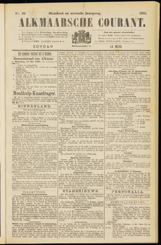 Alkmaarsche Courant 1905-05-14