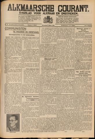 Alkmaarsche Courant 1939-03-08