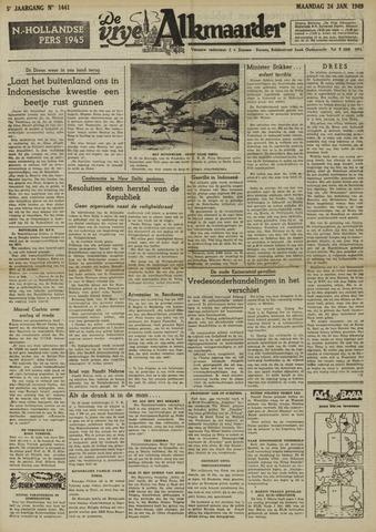 De Vrije Alkmaarder 1949-01-24