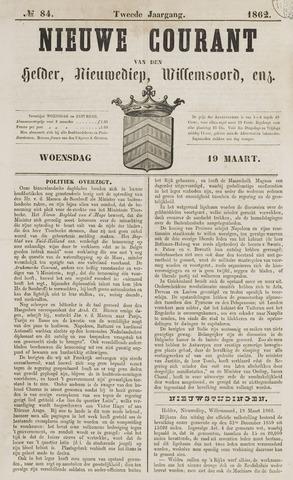 Nieuwe Courant van Den Helder 1862-03-19