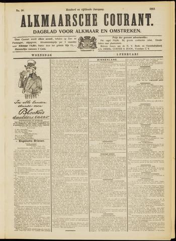 Alkmaarsche Courant 1913-02-05