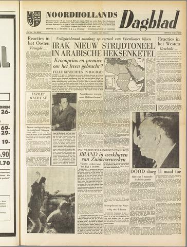 Noordhollands Dagblad : dagblad voor Alkmaar en omgeving 1958-07-15