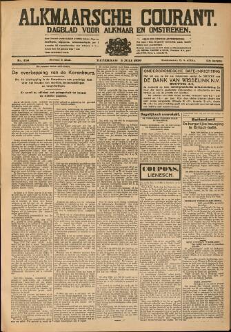Alkmaarsche Courant 1930-07-05