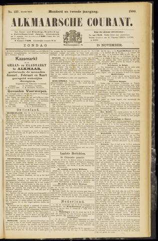 Alkmaarsche Courant 1900-11-18