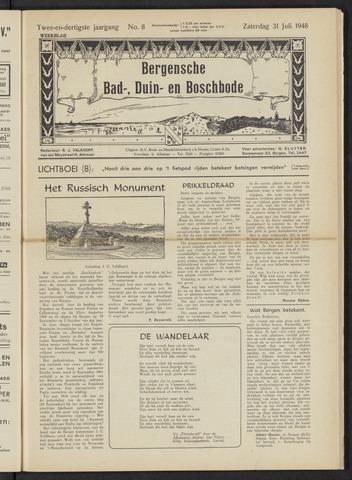 Bergensche bad-, duin- en boschbode 1948-07-31