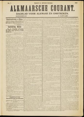 Alkmaarsche Courant 1913-01-09