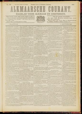 Alkmaarsche Courant 1919-09-01
