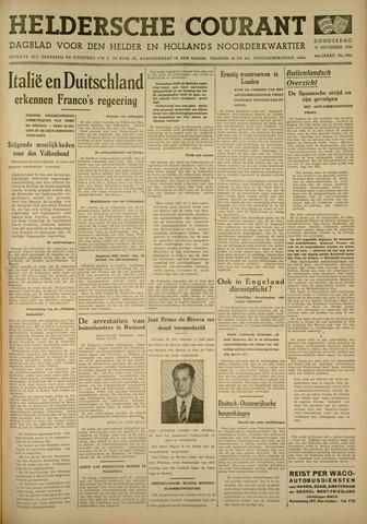 Heldersche Courant 1936-11-19